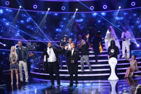 Șerban Copoț și Cezar Ouatu au câștigat a opta ediție a sezonului XIV Te cunosc de undeva!