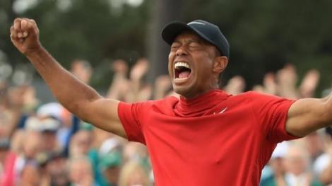 Tiger Woods a depăşit suma de 120 de milioane de dolari câştigată în circuitul de golf