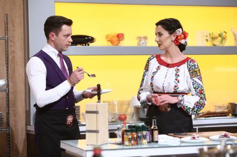 """Georgiana e cântăreață de muzică populară, Marian, designer vestimentar. Au gătit cu suflet și atenție maximă la detalii: """"Suntem dependenți de emoții intense"""""""
