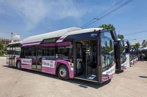 Peste o sută de autobuze electrice, cumpărate prin POR 2014 – 2020; mijloacele de transport vor ajunge în Alba-Iulia, Buzău, Constanţa, Ploieşti, Braşov şi Timişoara