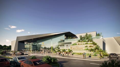 Iaşi: Au începutul lucrările la Moldova Mall, care va avea peste trei sute de magazine şi o suprafaţă închiriabilă de 100.000 de metri pătraţi