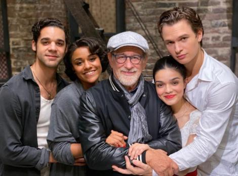 """Spielberg a încheiat filmările pentru """"West Side Story"""": Am mers pe urmele paşilor lui Bernstein, Laurents, Robbins şi Sondheim"""