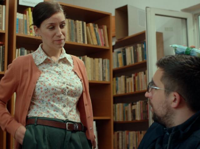 Actorul Teo Corban, interpretul primarului, joacă alături de fiica sa, Ioana, în serialul de comedie Mangalița