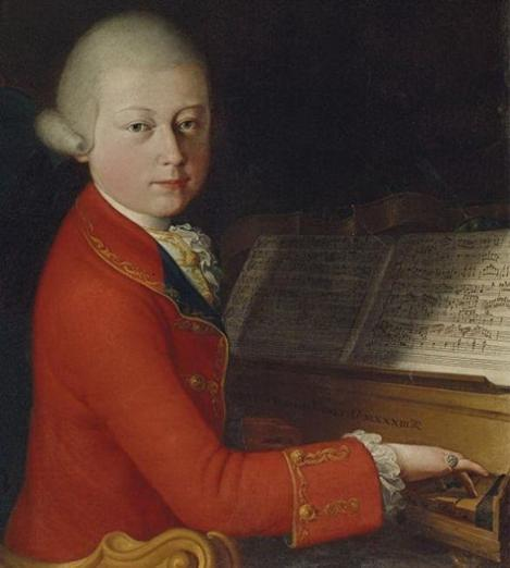 Un portret rar al lui Mozart adolescent, scos la licitaţie la Paris