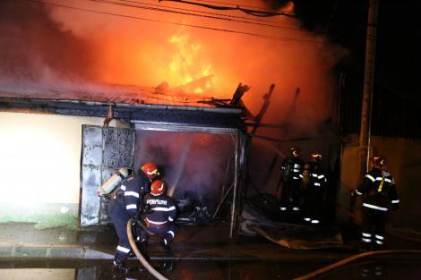 Incendiu la un cămin pentru vârstnici din judeţul Bistriţa-Năsăud; o angajată s-a intoxicat cu fum