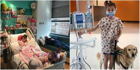 """Fetița lor avea dureri cumplite, dar medicii spuneau că este perfect sănătoasă. Boala a fost descoperită în timpul unei ecografii banale: """"Nu s-a mai văzut așa ceva la un copil"""""""