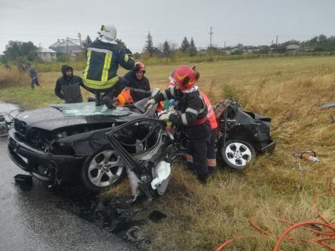 Patru persoane au fost rănite în două accidente care au avut loc în această dimineaţă în Vrancea