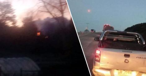 Imagini de Apocalipsă! Mingi de foc căzute din cer! Ce au găsit oamenii în locul unde au picat | FOTO