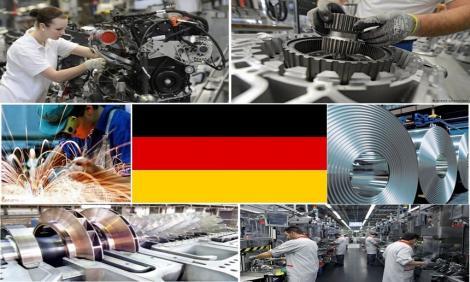 Comenzile din industria germană au scăzut în mod neaşteptat în august, mărind probabilitatea unei contracţii economice în trimestrul trei