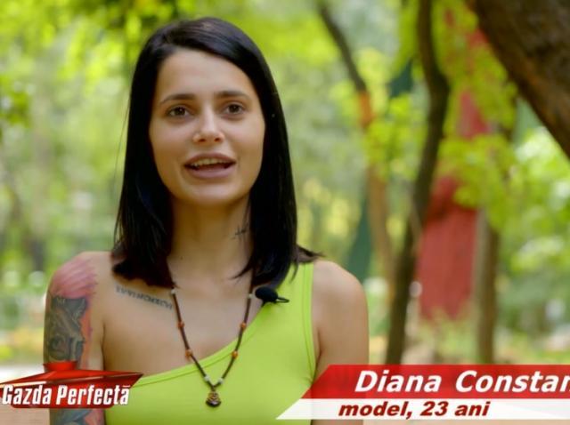 O mai știi pe Diana Constantin? Fosta concurentă de la Insula Iubirii a apărut cu un nou look la o emisiune tv