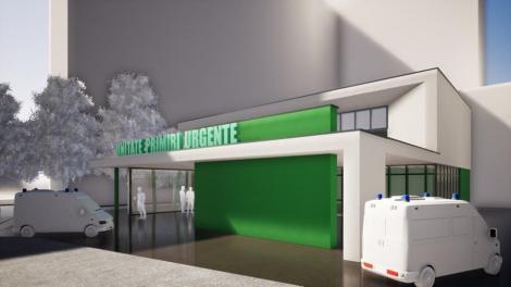 Proiect de 6,9 milioane de lei pentru extinderea, modernizarea şi dotarea Unităţii de Primiri Urgenţe a Spitalului Judeţean Timişoara