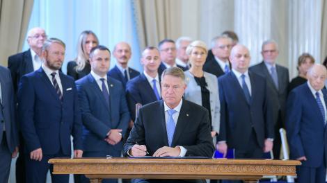 Iohannis a promulgat legea privind înfiinţarea Muzeului Naţional de Istorie a Evreilor şi al Holocaustului din România: Cea mai importantă lecţie pe care acest muzeu o va transmite este aceea de a nu uita