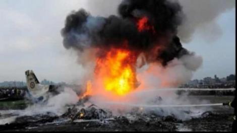 Ultimă Oră! Un avion al Forțelor Aeriene americane s-a prăbușit în Germania - Video