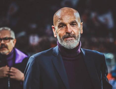 Stefano Pioli, noul antrenor al echipei AC Milan