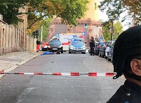 Atac armat în Germania! Două persoane au murit, iar altele au fost rănite, după ce un individ a deschis focul! Unul dintre atacatori a fost reținut
