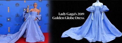 Lady Gaga a abandonat o rochie Valentino într-un hotel şi o cameristă o vinde la licitaţie