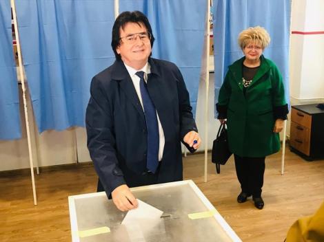 Alegeri prezidenţiale 2019 - Primarul Nicolae Robu: Am votat pentru ca România să fie reprezentată în continuare cu demnitate