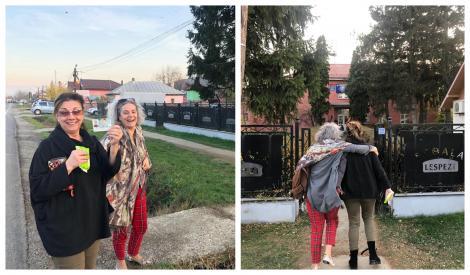 """Alegeri Prezidențiale 2019. Maia Morgenstern și Carmen Tănase au votat și s-au distrat! """"De gura ei"""" – Foto"""