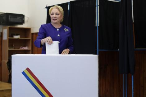"""Alegeri Prezidențiale 2019. Viorica Dăncilă, primele declarații după rezultatele exit-poll! """"Vreau să acordăm o atenție deosebită proceselor verbale, pentru a avea un rezultat exact mâine"""""""