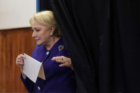 Alegeri prezidenţiale 2019 - Viorica Dăncilă a câştigat alegerile cu 43% în oraşul său, la Videle - rezultate provizorii