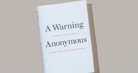 """Un funcţionar de rang înalt anonim de la Casa Albă prezintă un portret însăpimântător al lui Trump în cartea """"A Warning""""; """"el acţionează ca un copil de 12 ani"""""""