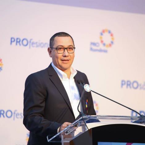 Alegeri prezidenţiale 2019 - Victor Ponta: Viorica Dăncilă a ajuns în turul al doilea pentru că aşa au vrut PNL şi Klaus Iohannis