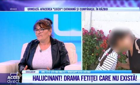 """Mariana Badea, mamă de suflet pentru fetița care nu există: """"De cinci ani stă la mine! Copila nu are acte"""""""