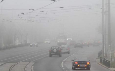 Avertizare meteo cod galben ceață și vânt puternic! Ce se întâmplă cu vremea în următoarele ore