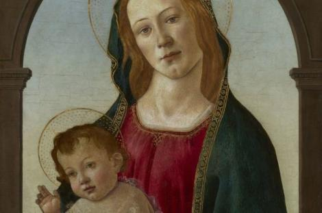 O pictură considerată copie a fost atribuită lui Botticelli