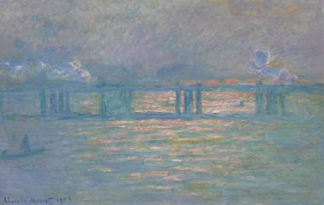 "Tabloul ""Charing Cross Bridge"", de Claude Monet, adjudecat contra sumei de 27,6 milioane de dolari"