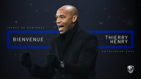 Thierry Henry a fost numit antrenor la Montreal Impact