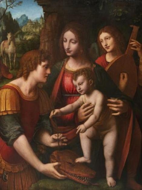 Un tablou de Bernardini Luini, discipol al lui Leonardo da Vinci, vândut la licitaţie cu 2,3 milioane de euro, un record