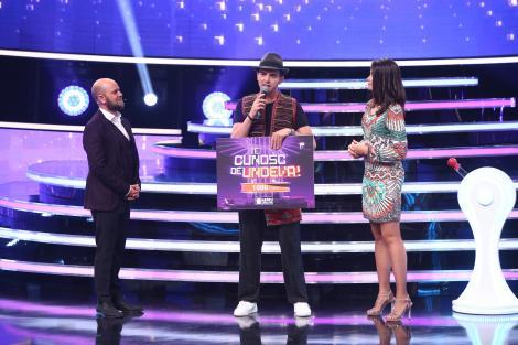 """Roman Iagupov i-a purtat noroc! Grigore Gherman obține a doua victorie la """"Te cunosc de undeva!"""": """"Am rămas fără cuvinte!"""""""