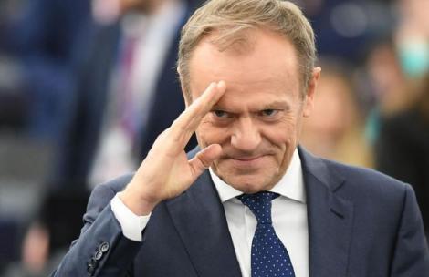 Polonezul Donald Tusk, pe cale să devină primul preşedinte est-european al Partidului Popular European