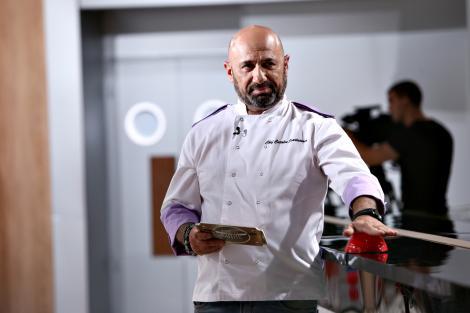 """Război la """"Chefi la cuțite""""! Chef Cătălin Scărlătescu a atacat cu una dintre amulete! Lovitură sub centură pentru celelalte echipe! """"Boss, ești nebun?"""""""