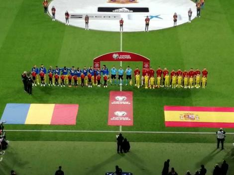 Naționala României, executată la Madrid! A fost cel mai slab scor al Tricolorilor din ultimii zece ani