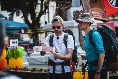 """Frații Ristei despre experiența Asia Express – """"Aș mânca și o bucată de lemn"""""""