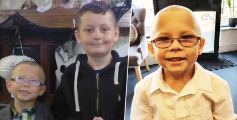 """Un puști de șapte ani s-a ras în cap după ce prietenul lui de la școală a fost diagnosticat cu leucemie: """"Am vrut să nu fie singurul fără păr!"""""""