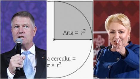 Aria cercului. Formula simplă care i-a încurcat pe Klaus Iohannis și Viorica Dăncilă. Unul a greșit, altul a tăcut