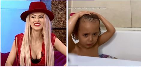 """Andreea Bălan a publicat imagini intime cu soțul și fetiţele ei, filmate în baie! Cum se poartă George Burcea cu micuțele. """"Este balamuc când le facem băiță!"""" – Video"""