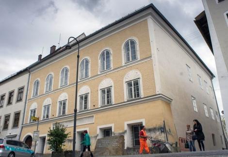 """Casa natală a lui Adolf Hitler va deveni secţie de poliţie! """"Această clădire nu va fi niciodată un loc de comemorare a nazismului"""""""