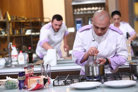 Chef Scãrlãtescu a pierdut doi oameni în primele douã battle-uri Chefi la cuţite