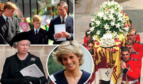 """A fost ținut secret atâția ani! Moment rușinos în timpul funeraliilor prințesei Diana: """"M-am gândit că voi fi spânzurat și sfârtecat"""""""