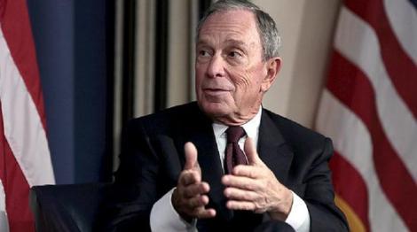 Miliardarul Michael Bloomberg a depus actele necesare pentru a candida la preşedinţia Statelor Unite