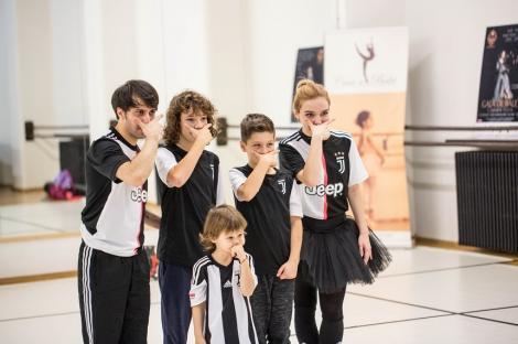 """Gala de balet """"Carmen Sylva"""" - Coregrafie specială în paşi de balet inspirată din """"masca"""" lui Paulo Dybala"""