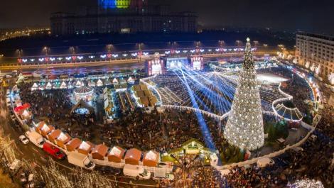 Când își deschide porțile Târgul de Crăciun din București. Cei mici îl pot vedea pe Moș Crăciun începând cu data de 13 decembrie