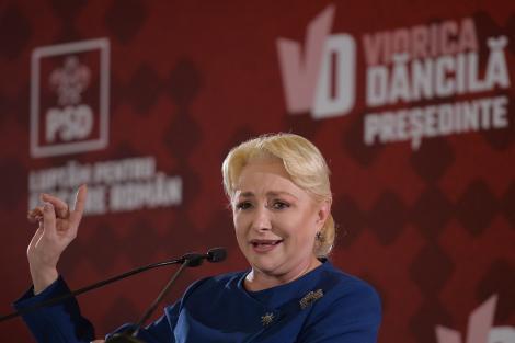 """Alegeri prezidențiale 2019, turul 2: Viorica Dăncilă a votat: """"Nu luăm în calcul eșecul!"""""""