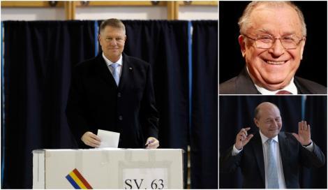 Alegeri prezidențiale 2019. Iohannis, în aceeași echipă cu Traian Băsescu și Ion Iliescu. Ce îi leagă pe cei trei șefi de stat