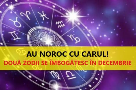 Au noroc cu carul!! Două zodii se vor îmbogăți în decembrie!  Vor avea o lună plină de belșug