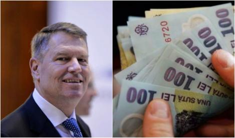 """Klaus Iohannis, declarație categorică în privința salariilor și a pensiilor! Ce se va întâmpla. """"Este o necesitate"""""""